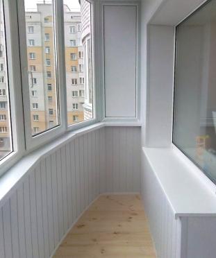 Балкон полукруглый 137 серия 3 метра