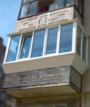 П-балкон в хрущевке